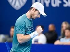 """Andy Murray: """"La première fois que je joue un match comme ça"""""""