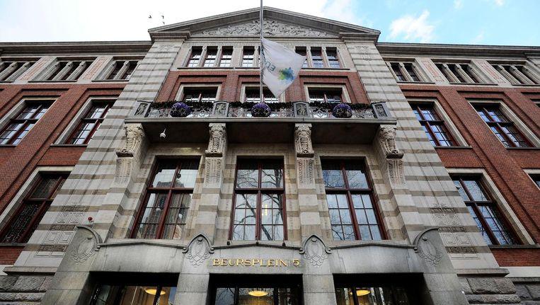 De Amsterdamse aandelenbeurs is maandag licht hoger geopend Beeld anp