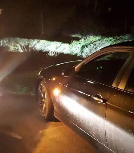 Wilde achtervolging door Kromme Rijngebied, dronken bestuurder opgepakt bij Leersum