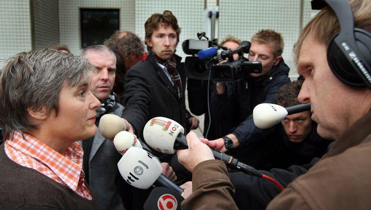 Rechter Van der Veen verklaart dat DSB officieel failliet is verklaard. Foto ANP Beeld