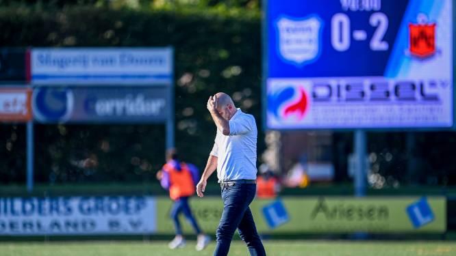 Trainer Twisker vertrekt per direct bij hekkensluiter GVVV: 'Opstappen was voor mij de enige optie'