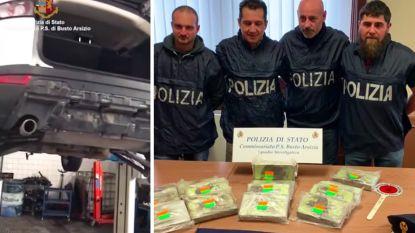 Vijftien kilo cocaïne ontdekt bij werkloze in Range Rover met Belgische nummerplaat