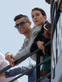 Cristiano Ronaldo met zijn partner Georgina Rodriguez.