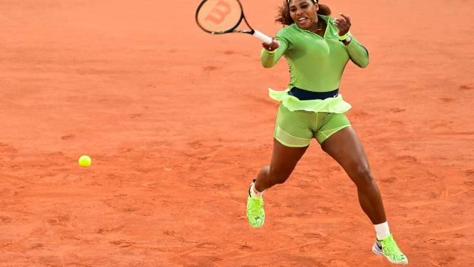 ROLAND GARROS. Serena Williams neemt eerste horde, Muguruza meteen out - Federer maakt indruk bij comeback op Parijse gravel -