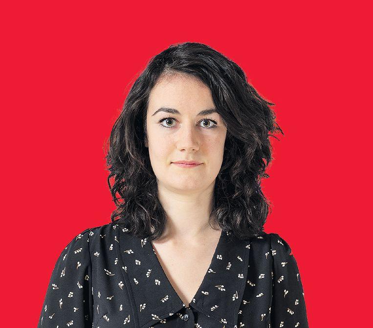 Elisah van den Bergh beheert de bedrijfscollectie van NN Group. Ze vond als kind kunst maar saai en statisch. Beeld