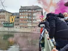 La manifestation de l'horeca toujours en cours à Namur, la mobilité reste contrariée dans le centre