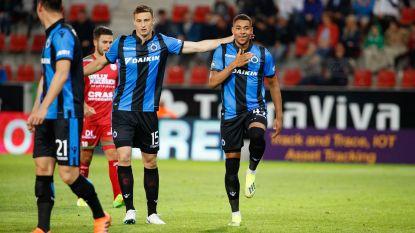 VIDEO. Club Brugge dolt met mak Zulte Waregem in doelpuntenkermis, Rezaei scoort zijn eerste voor blauw-zwart