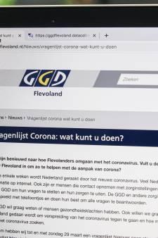 Corona-enquête GGD Flevoland breekt records