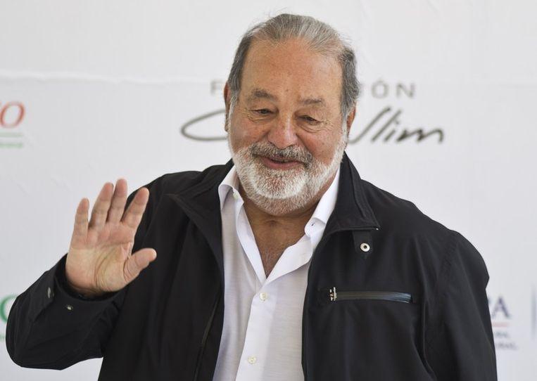 Carlos Slim. Beeld afp
