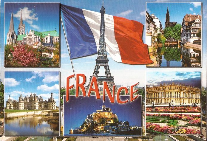 ansichtkaart Frankrijk