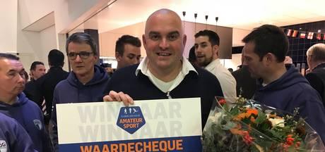 Geen hoofdprijs, wel boost voor clubheld uit Harderwijk