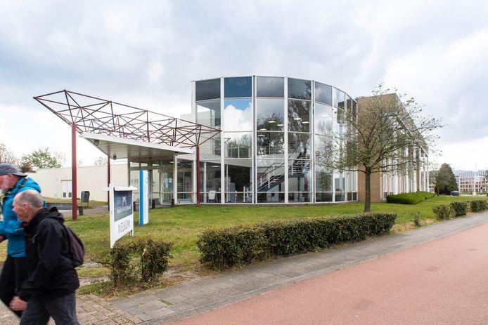 Ingang Amrath Hotel Heerbaan Breda.