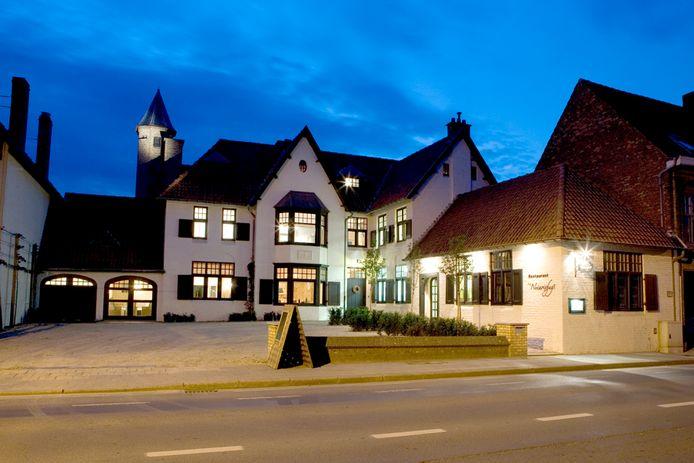 Restaurant Notarishuys in Diksmuide kreeg dinsdagnacht een inbreker over de vloer.