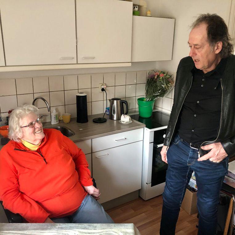 Bets Pool-Schermer en André Meester. Beeld Toine Heijmans
