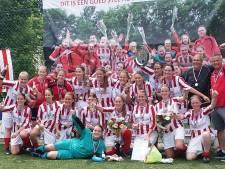 Overzicht: Jong Brabant speelt nacompetitie door 0-10 zege, titel vrouwen Nooit Gedacht