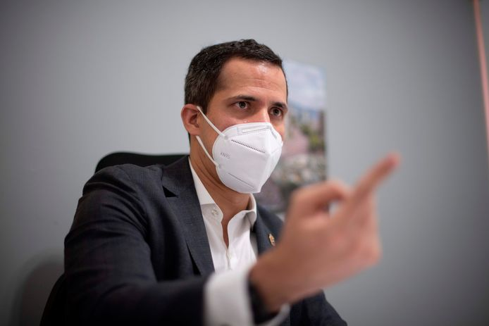 De Venezolaanse oppositieleider Juan Guaido.