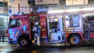 Brand in leegstaand gebouw zorgt voor rookpluim op E40 in Evere