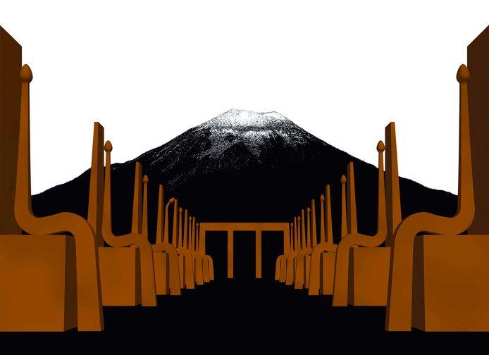 Anima Mundi in een landschappelijke situatie.