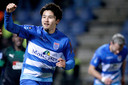 Yuta Nakayama maakte het enige doelpunt.