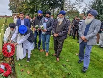 """Sikh gehuldigd die precies 106 jaar geleden sneuvelde door kogel in de buik: """"Hij had een voorgevoel dat hij zou sterven"""""""