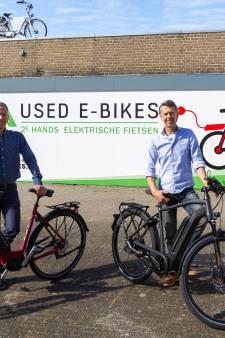Used E-bikes weer aan de slag in de Posthof Bladel: 'Wij zitten hier prima'
