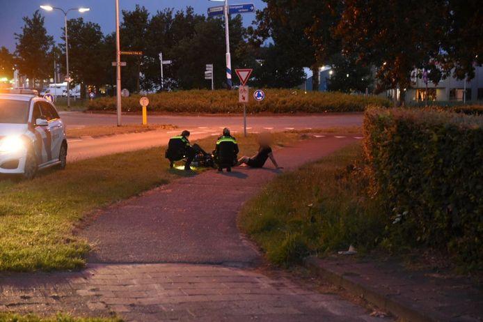 Een solexrijder is gewond geraakt bij een valpartij op de Tukseweg in Tuk.