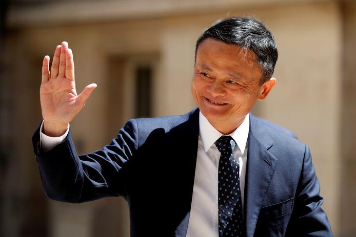 Le fondateur du géant du commerce en ligne Alibaba, Jack Ma.