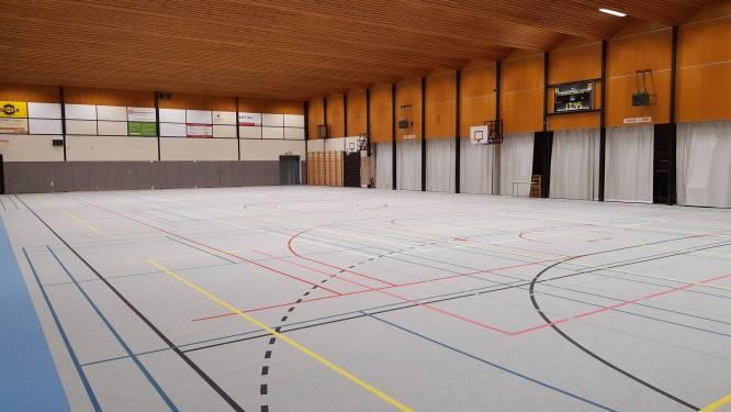 Gemeentelijke sporthallen van Kruishoutem en Zingem hebben een nieuwe vloer