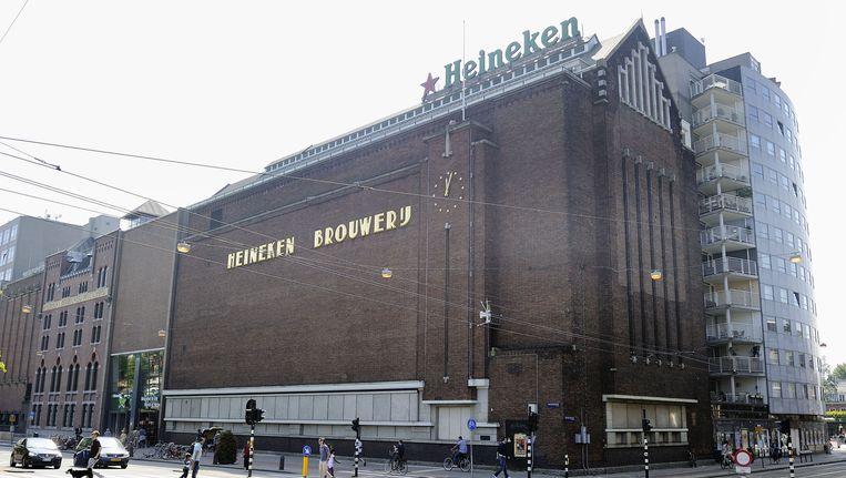 Het hoofdkantoor van Heineken in Amsterdam Beeld anp