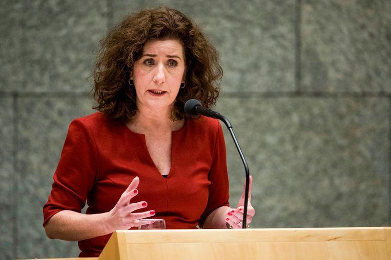 Minister Ingrid van Engelshoven Beeld Freek van den Bergh / de Volkskrant
