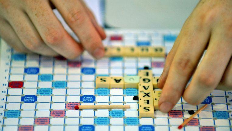 Scrabble is bezig met een opmerkelijke opmars. ©ANP Beeld