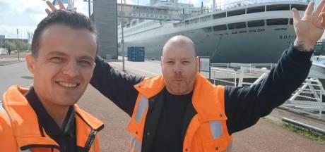 De man van 'hatsikidéé' is terug met hilarisch filmpje voor songfestival: 'Rotterdam moet shinen'