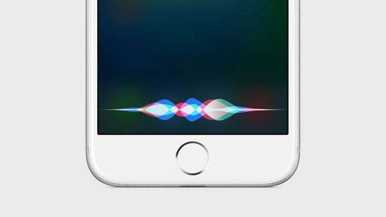 Ook Siri, de virtuele assistent van Apple, toont dat technologie nooit neutraal is. Beeld apple