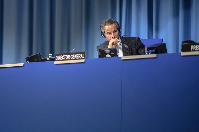 Rafael Grossi, directeur-generaal van het Internationaal Atoomenergieagentschap (IAEA). Beeld EPA