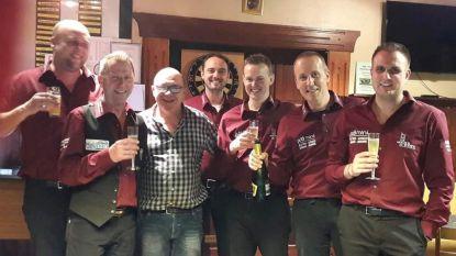 Golfbiljartersploeg café 't Hoeksken voor derde keer beste ploeg van België
