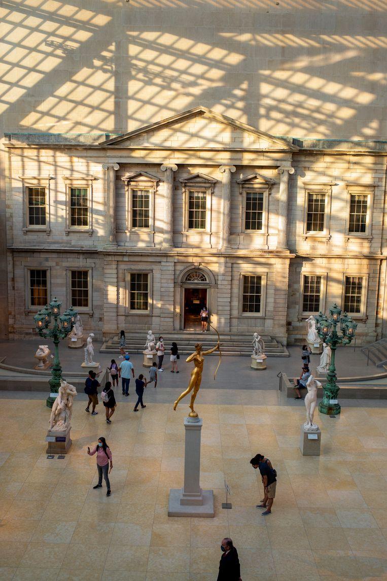 Het Metropolitan Museum of Art in New York. Beeld Liao Pan/China News Service via Getty Images