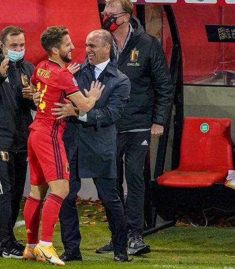 """Dries Mertens voulait remercier Roberto Martinez: """"Grâce à lui, la Belgique a fait un pas en avant"""""""