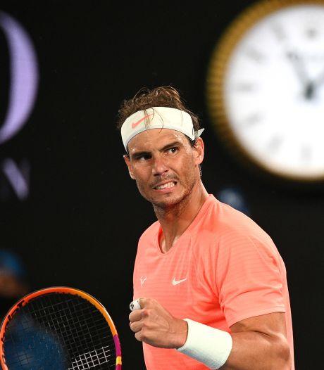 Nadal s'impose en 3 sets et rencontrera Fognini en huitièmes de finale