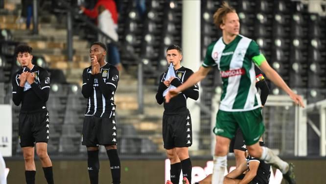 Kortrijk ontsnapt na strafschoppen aan uitschakeling tegen amateurclub Knokke, 1B-club Lommel kegelt Charleroi uit Croky Cup