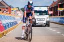 Zijn deelname was onzeker, na een valpartij in de Ronde van België