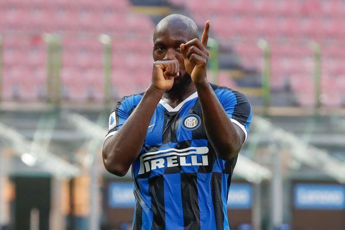 Lukaku goed voor de opener tegen Bologna.