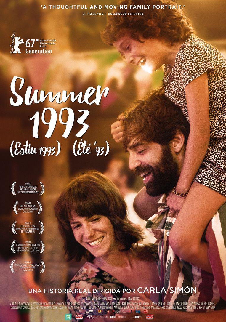 De poster van 'Summer 1993'. Beeld RV