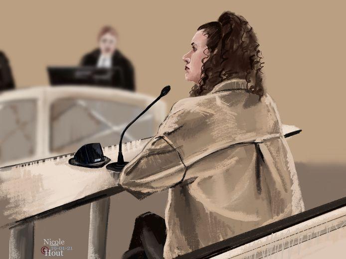De Haagse wordt verdacht van medeplichtigheid aan de gewelddadige beroving van haar bazin, een marktkoopvrouw uit Gouda.