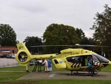Eerste overgeplaatste ic-coronapatiënt naar het ZGT Almelo komt per helikopter