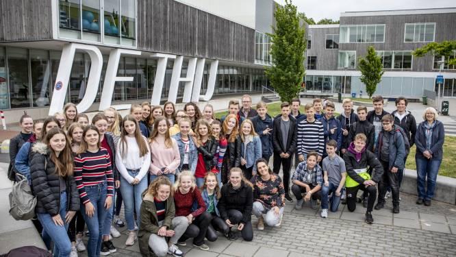 Duits leren op De Thij in Oldenzaal, dat is zingen en vooral: durven
