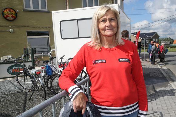 Voormalig bondscoach van de Belgische vrouwenploeg Christel Herremans.