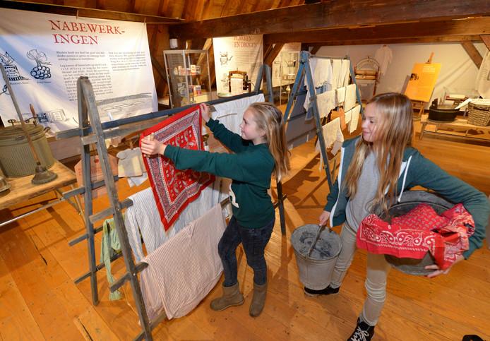 Expositie Maandag wasdag in Museum Elisabeth Weeshuis.