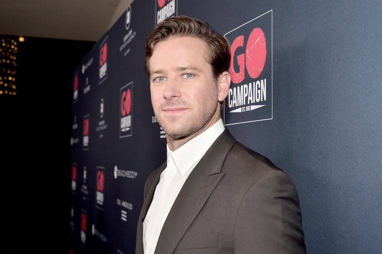 Armie Hammer. Beeld Getty Images
