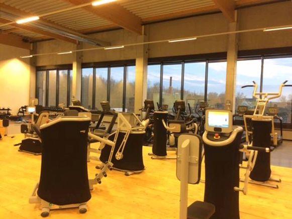 De fitnessruimte op de eerste verdieping heeft een oppervlakte van 650 vierkante meter.