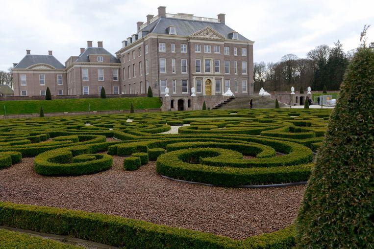 Er is ruimte in overvloed rond Paleis Het Loo, aan de rand van Apeldoorn.  Beeld Brunopress